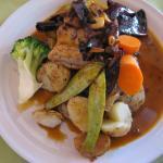 Restaurant El Quinqué: Mahi-mahi al Ajillo