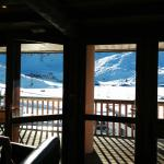 View from lounge over looking slopes