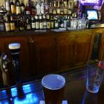 Old-school English pub atmosphere