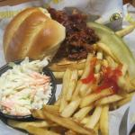 pulled pork, Buffalo Wild Wings, Bower Parkway, Columbia, SC, Jan 2015