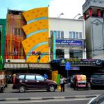 The Ayam Penyet restaurant just opposite the hotel with tasty food and deserts