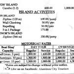 Hundred Islands Rates part 2 of 2