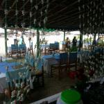 Sitting plan in sunset view beach bar&restaurant