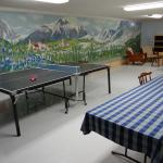 Recreation room-Mural by Harry Dayton