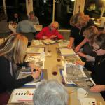 Art, wine & freinds. Classes available.