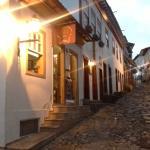 Rua do Centro histórico de Diamantina.