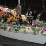 Annual Christmas boat parade At the Boardwalk. 