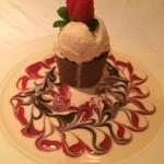 """The """"chocolate marquise,"""" it tasted as delicious as it looks"""