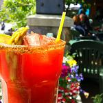 Enjoy a drink on our deck!