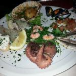 Mixed seafood starter
