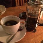 Gott kaffe efter maten.