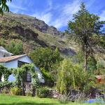 Landscape of our retreat centre in Sacred Valley