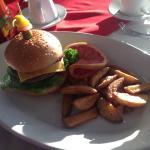 La mejor hamburguesa que he comido