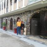 In front of Casa Teresa's Restaurant