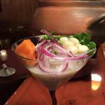 Ceviche martini