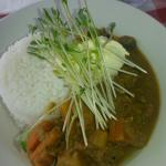 Lamb curry for breakfast :p just because I can. The cost was reasonable at $15 Aus.