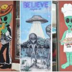 Some more of the alien-themed sights in downtown Roswell, NM