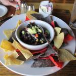 Cowboy cavier appetizer