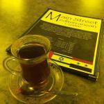 The Complimentary Turkish Tea is wonderful!