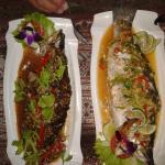 Delicious fresh fish (Thai style)