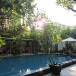 Pool-restaurant area