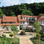 Innenhof Hardenberg BurgHotel