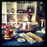 Søndags kaffekagebord