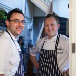 Our Head Chef Pawel Opara and Sous Chef Karol