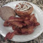 My breakfast...Mmmm Bacon!