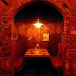 An intimate dining experience at the Butcher Block Steak House Restaurant