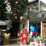 鐵皮駅機器人餐廳照片