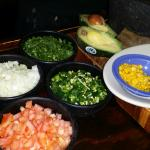 guacamole being made