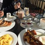 Breakfast yumminess