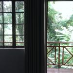 View from inside of room