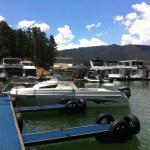 Free customer boat/jetski parking