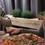 Pizza super Vegetariana x la mia amica.
