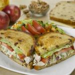 Chicken Apple Walnut Sandwich