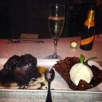 Chocolate toffee pudding! My ultimate favorite!