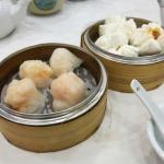 Shrimp Dumplings and BBQ Steamed Buns