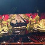 "The magnificent ""Million Dollar Piano"" stage."