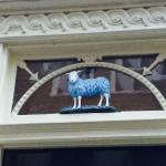 the Blue Sheep sign