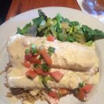 Poncho enchiladas