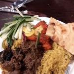 Lovely lamb curry