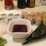 My sushi dinner