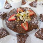 Sunshine Pancakes (buckwheat and walnut)