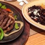 Steak fajitas!