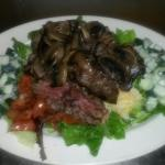 Grilled Steak Salad.