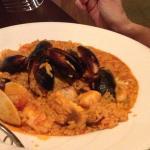 Pomodoro - Seafood Paella dish