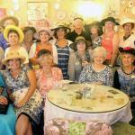 It's a tea party!