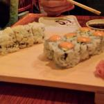Fresh Sushi - Crunch and Spicy California roll
